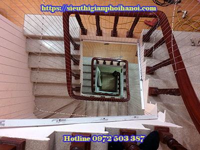 lưới bảo vệ cầu thang tại hà nội